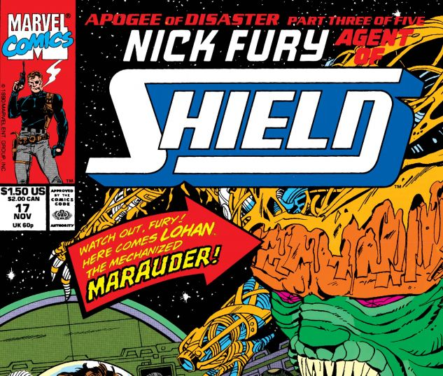 Nick Fury, Agent of Shield (1989) #17