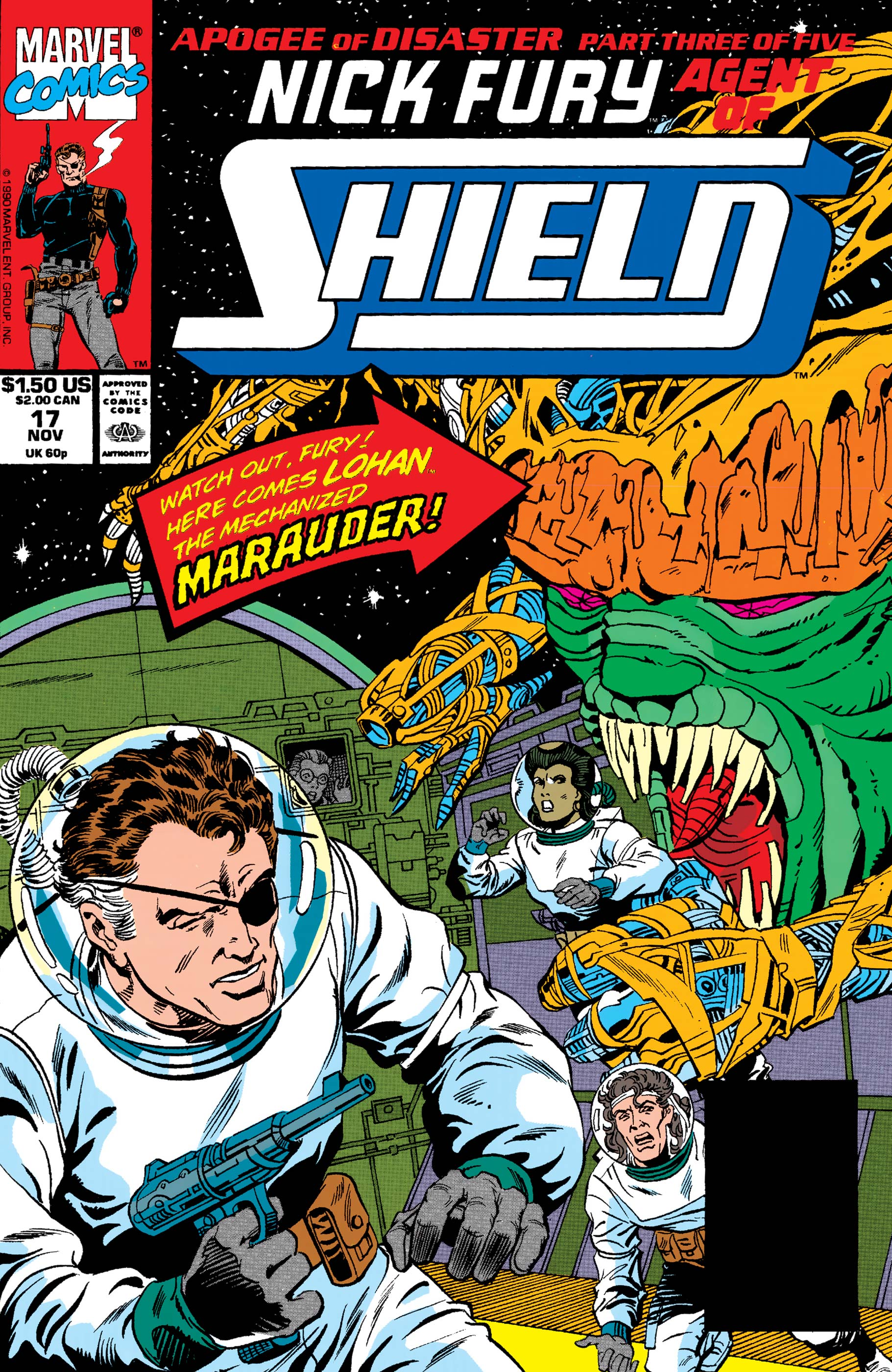 Nick Fury, Agent of S.H.I.E.L.D. (1989) #17