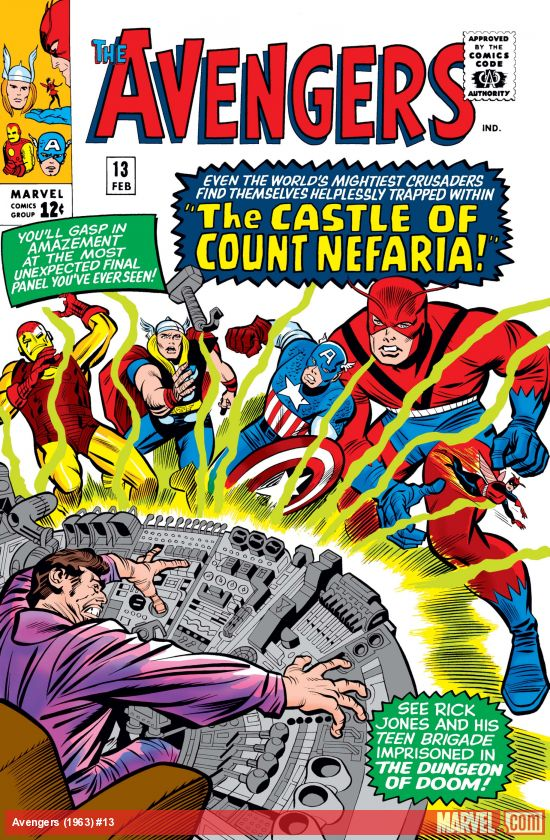 Avengers (1963) #13