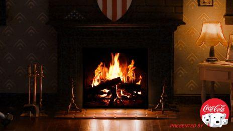 Marvel Fireside Video - Captain America -CloseUp