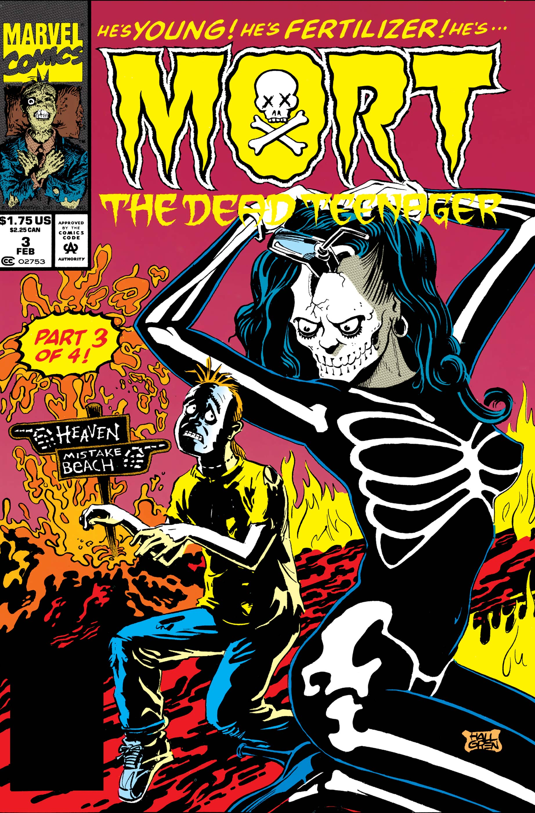 Mort The Dead Teenager (1993) #3