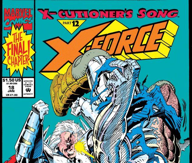 X-Force (1991) #18