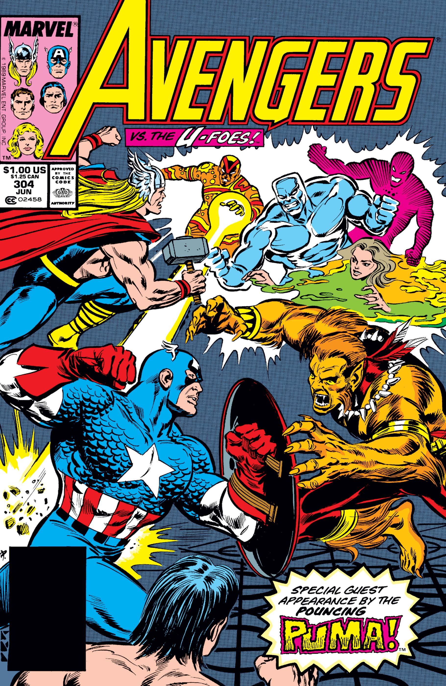 Avengers (1963) #304
