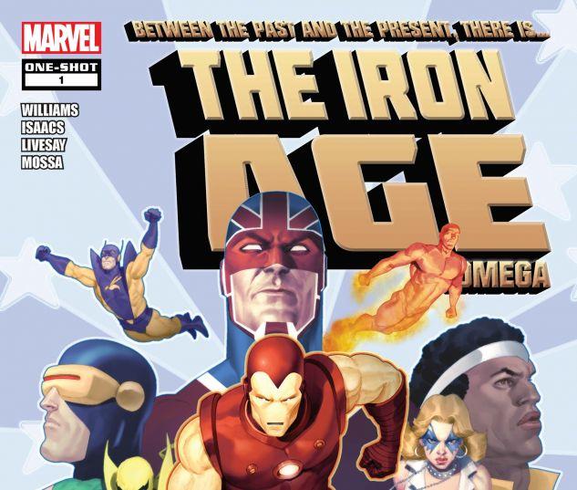 IRON AGE: OMEGA (2010) #1