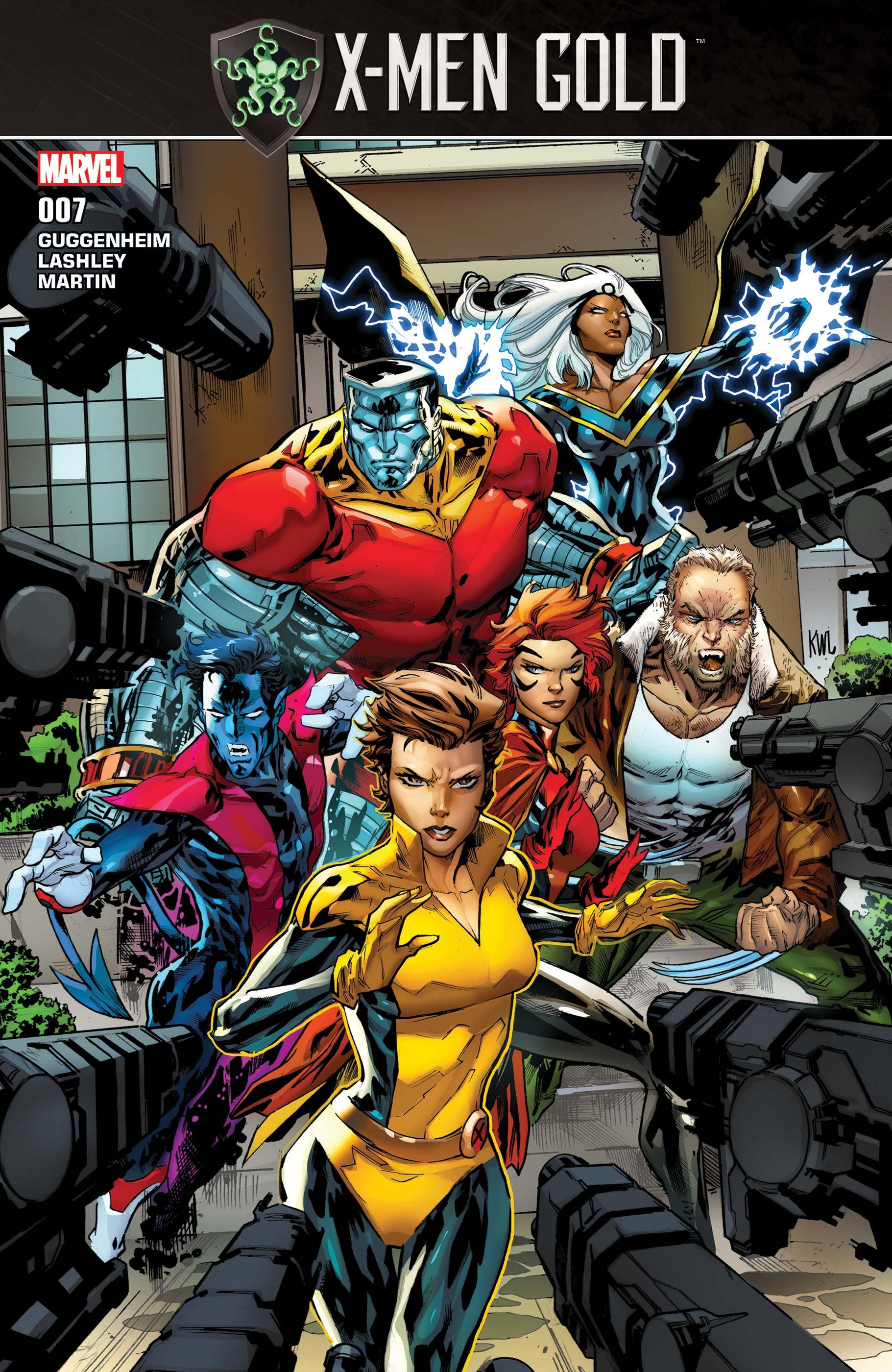 X-Men: Gold (2017) #7