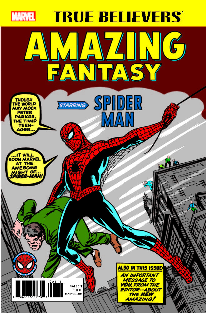 True Believers: Amazing Fantasy Starring Spider-Man (2017) #1