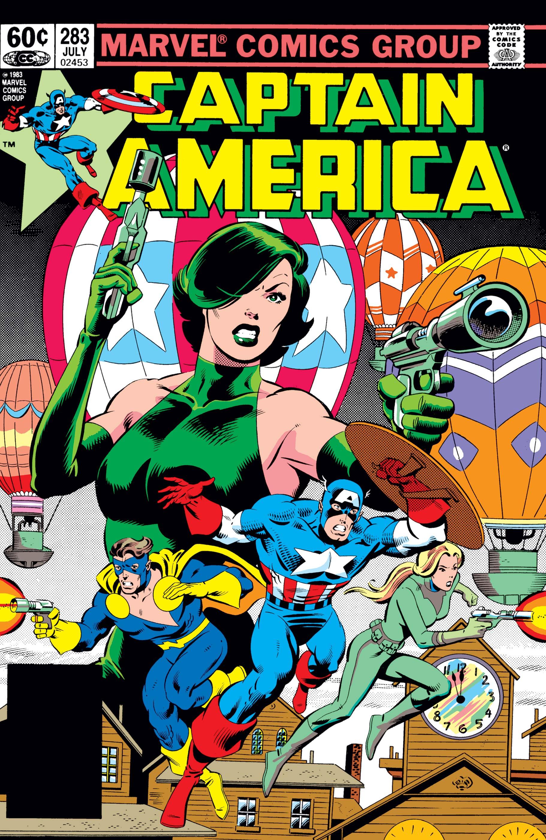 Captain America (1968) #283