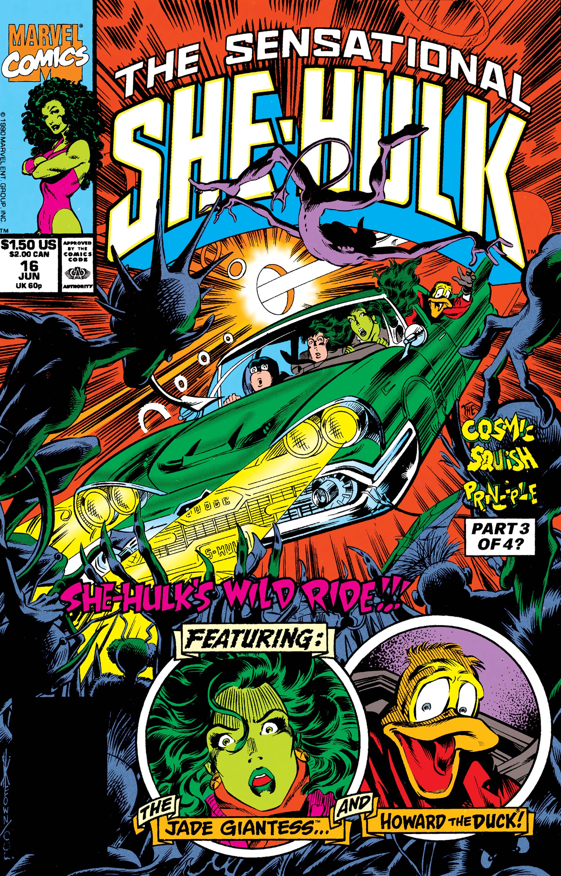 Sensational She-Hulk (1989) #16