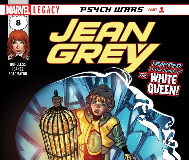 Cover for JEAN GREY 8