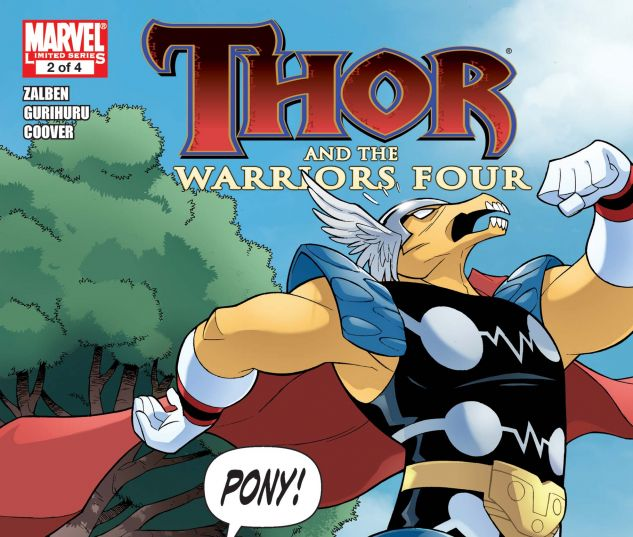 Thor and the Warriors Four (2010) #2