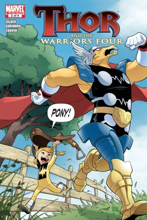 Thor and the Warriors Four #2