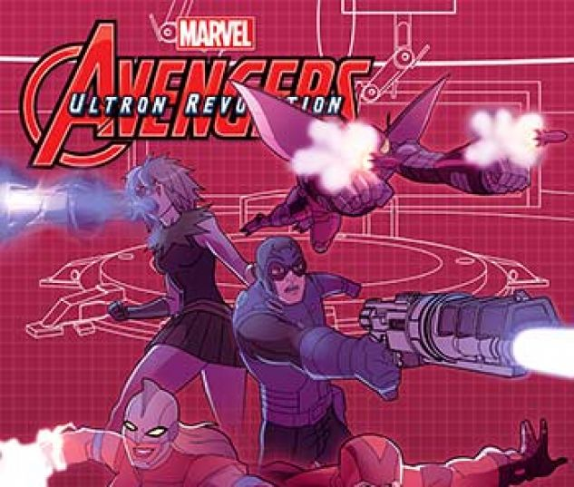 cover from Marvel Universe Avengers: Ultron Revolution (Digital Comic) (2017) #10