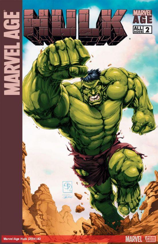 Marvel Age Hulk (2004) #2