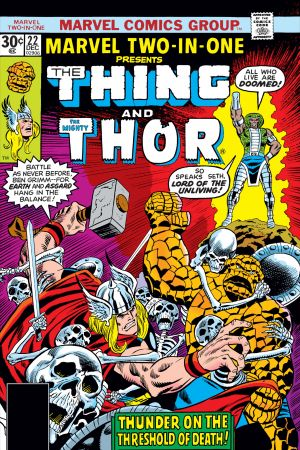Marvel Two-in-One (1974) #22