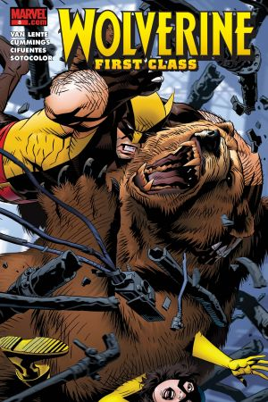 Wolverine: First Class (2008) #8