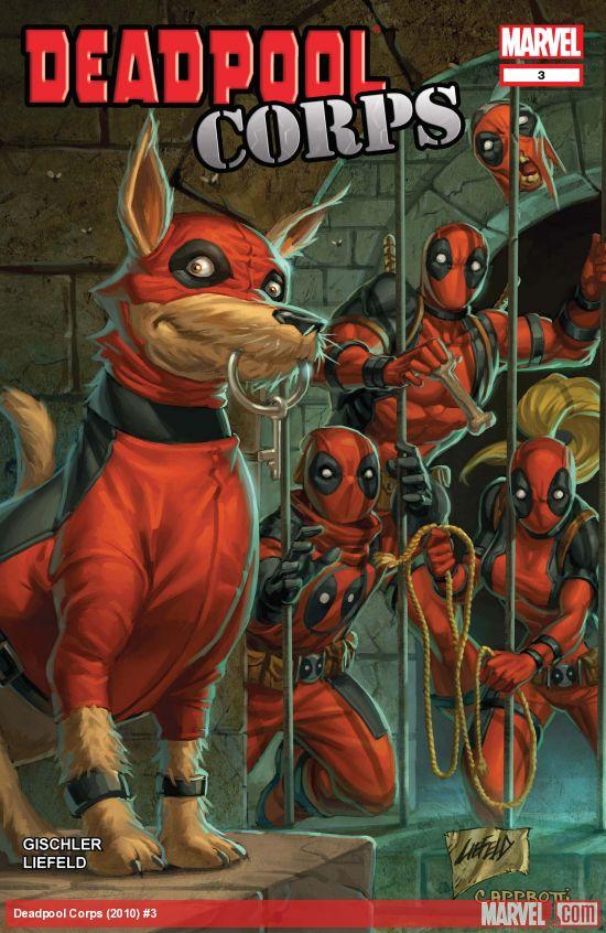 Deadpool Corps (2010) #3