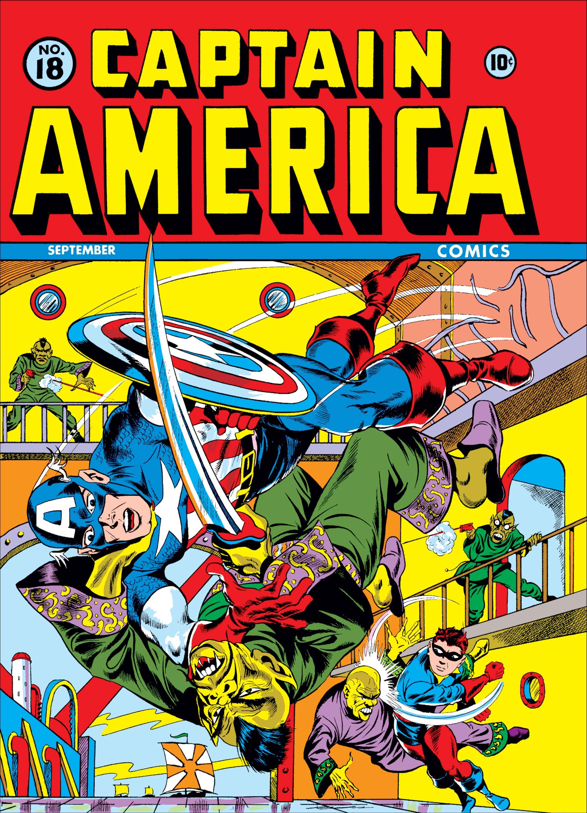 Captain America Comics (1941) #18