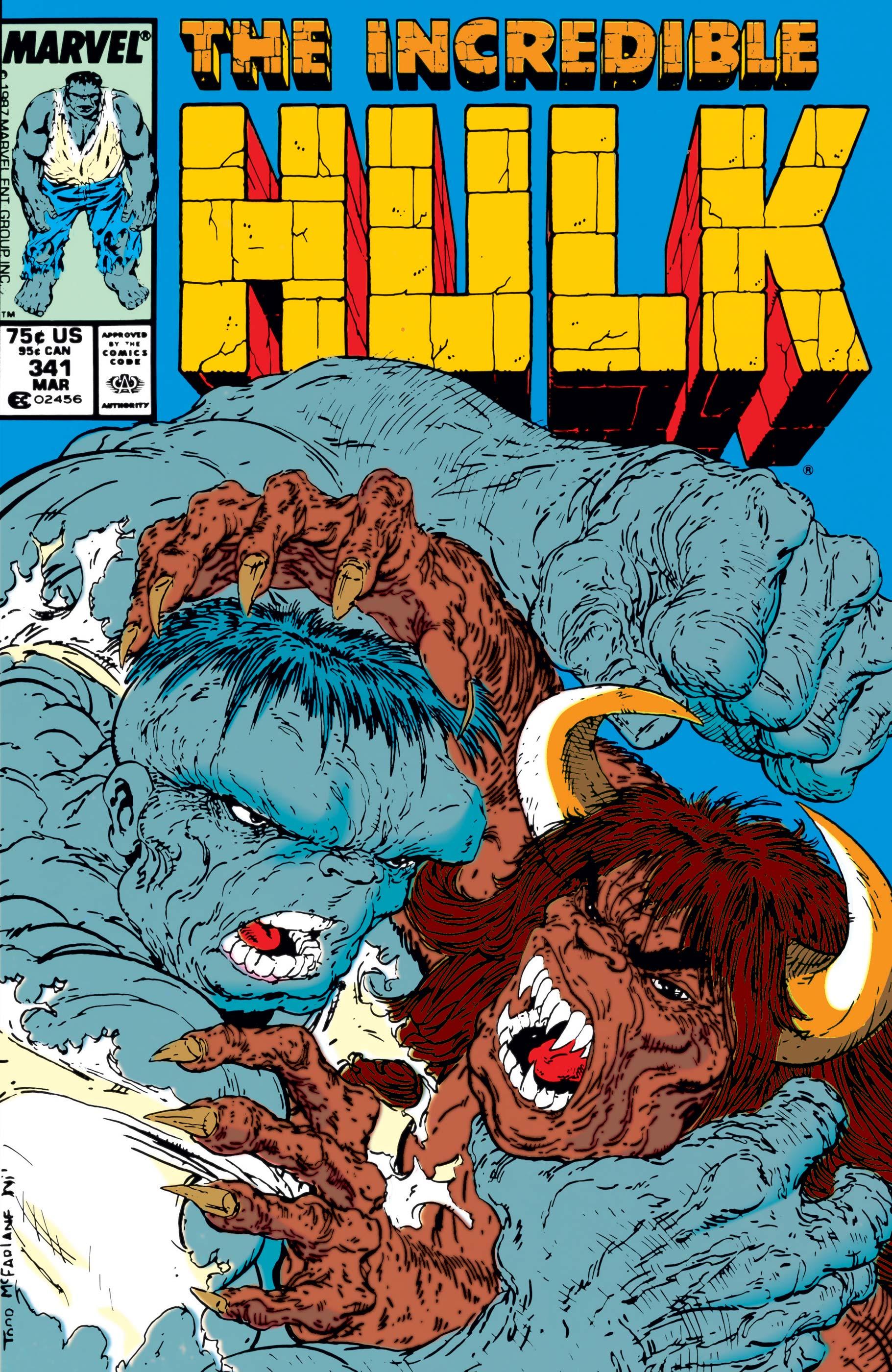 Incredible Hulk (1962) #341
