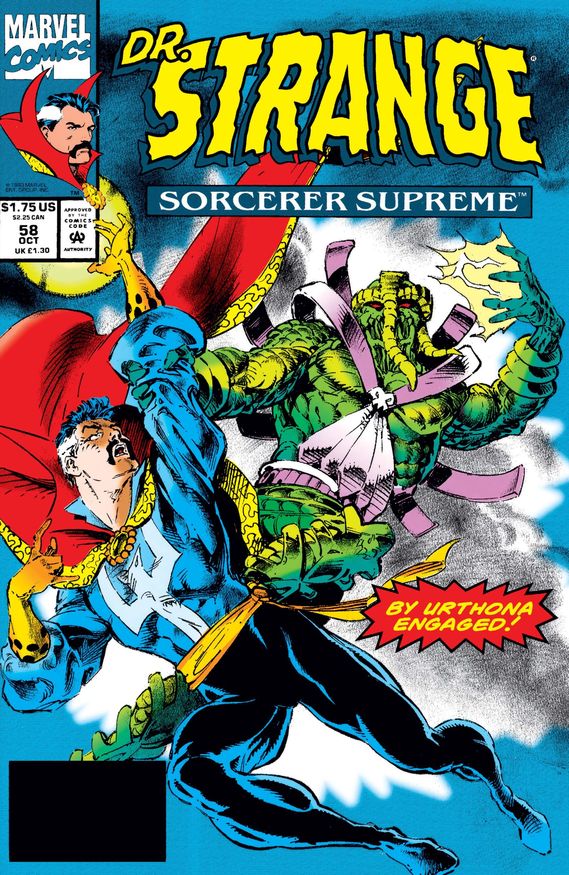 Doctor Strange, Sorcerer Supreme (1988) #58