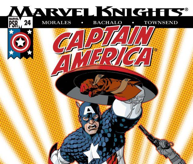CAPTAIN AMERICA (2002) #24