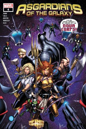 Asgardians of the Galaxy (2018) #4