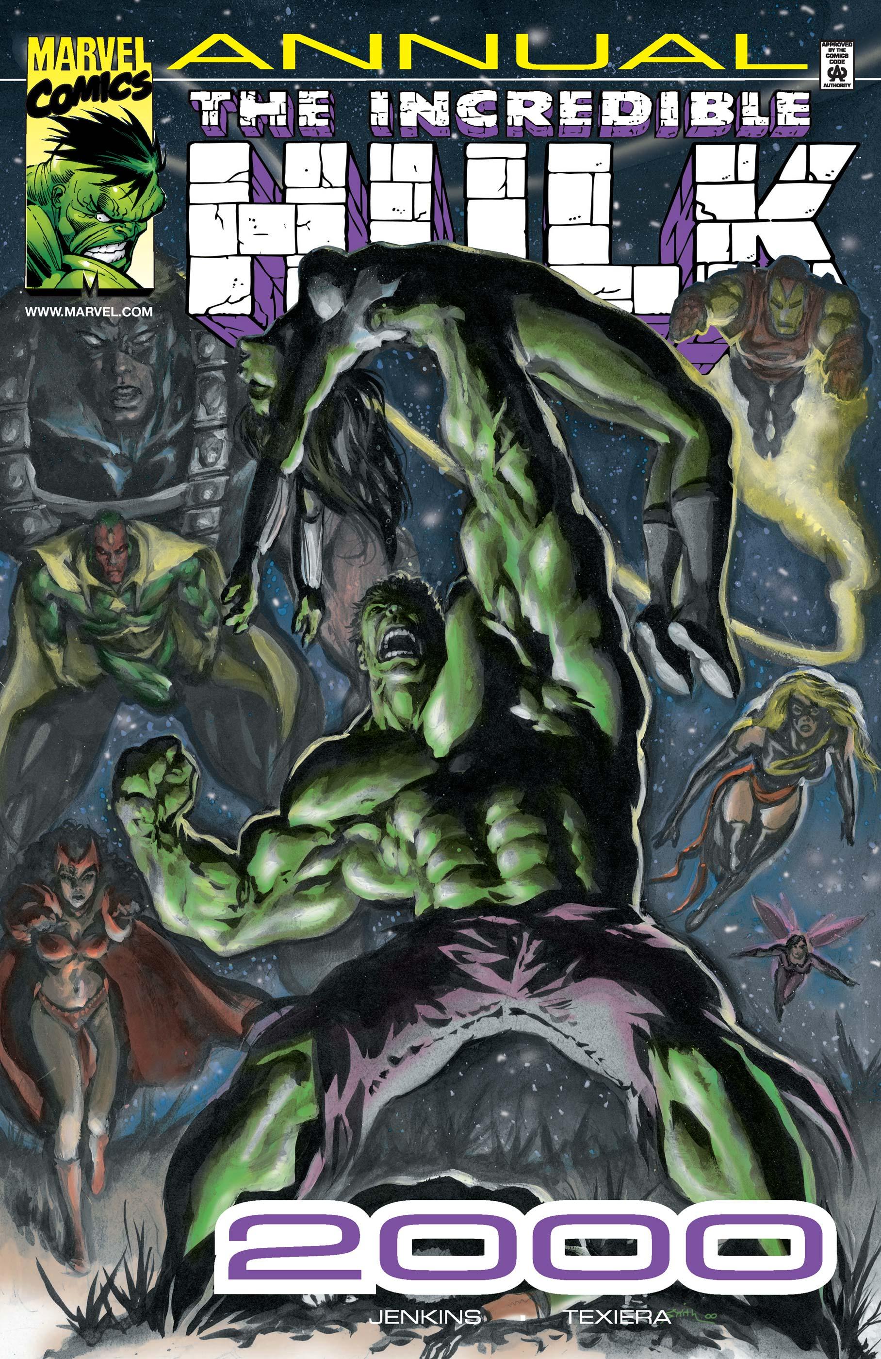 Hulk Annual (2000) #1
