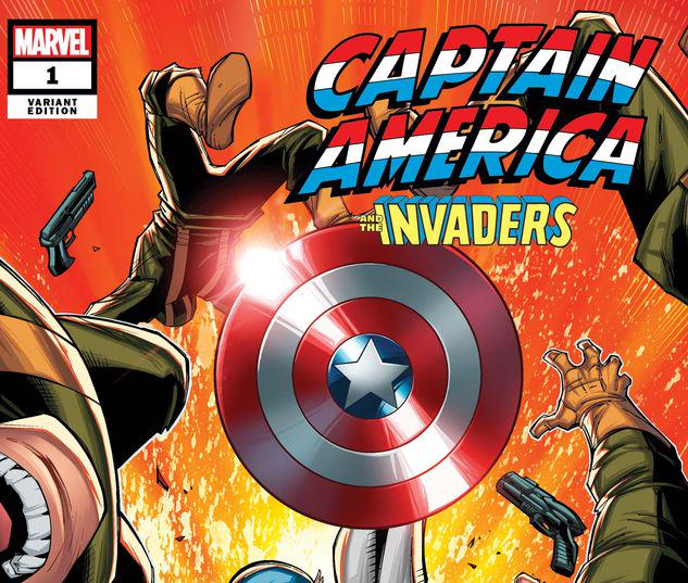 CAPTAIN AMERICA & THE INVADERS: BAHAMAS TRIANGLE 1 LIM VARIANT #1