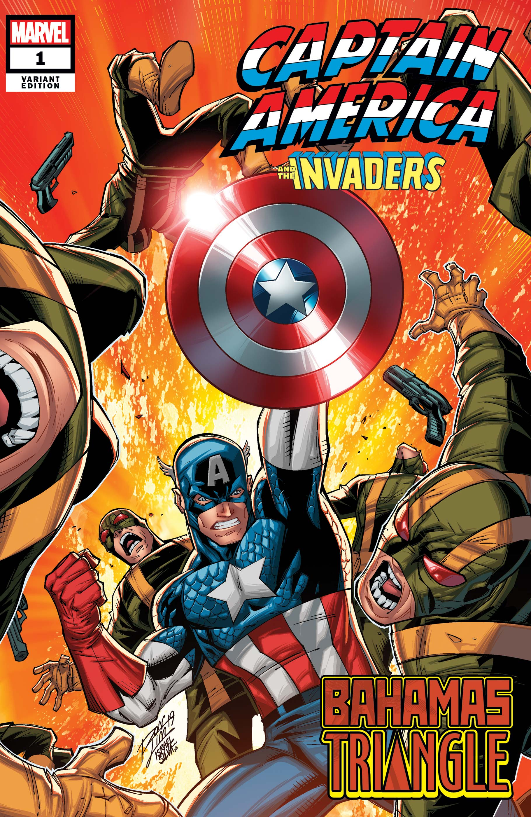 Captain America & The Invaders: Bahamas Triangle (2019) #1 (Variant)