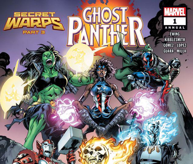 SECRET WARPS: GHOST PANTHER ANNUAL 1 #1