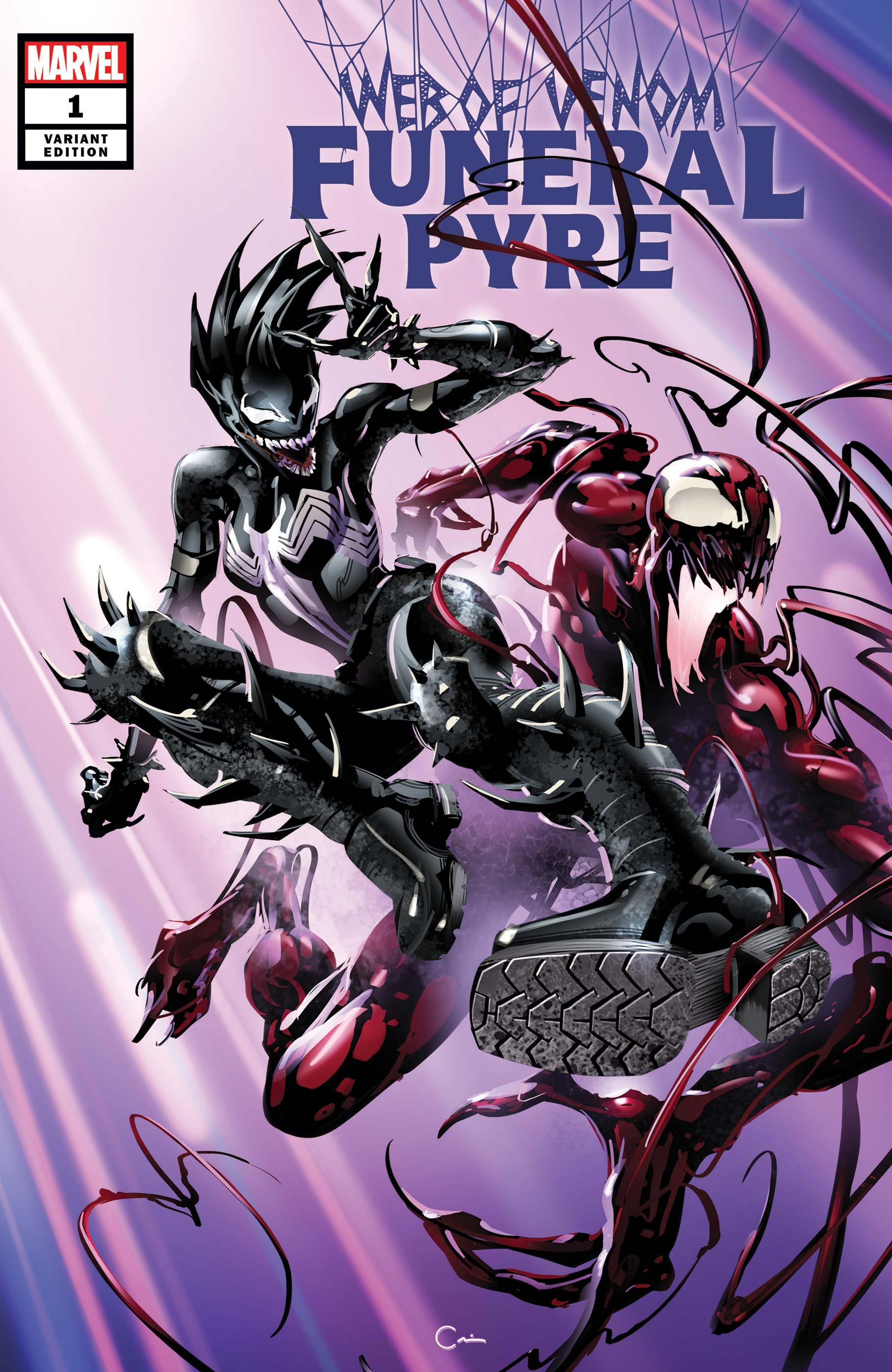 Web Of Venom: Funeral Pyre (2019) #1 (Variant)