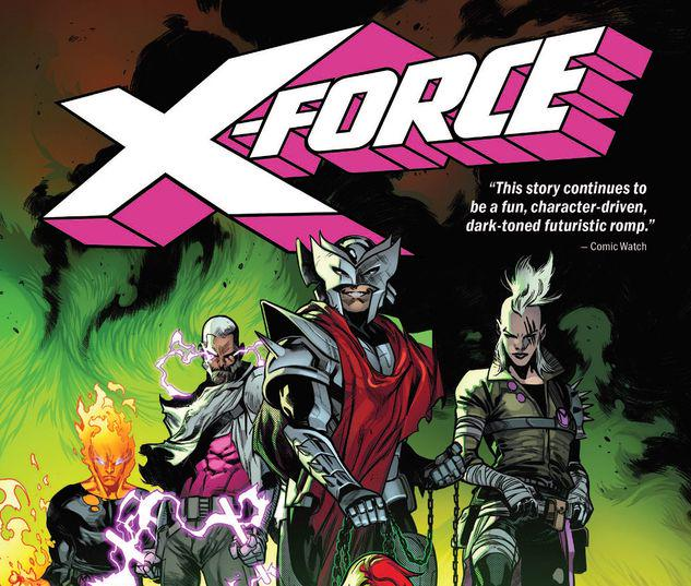 X-FORCE VOL. 2: THE COUNTERFEIT KING TPB #2