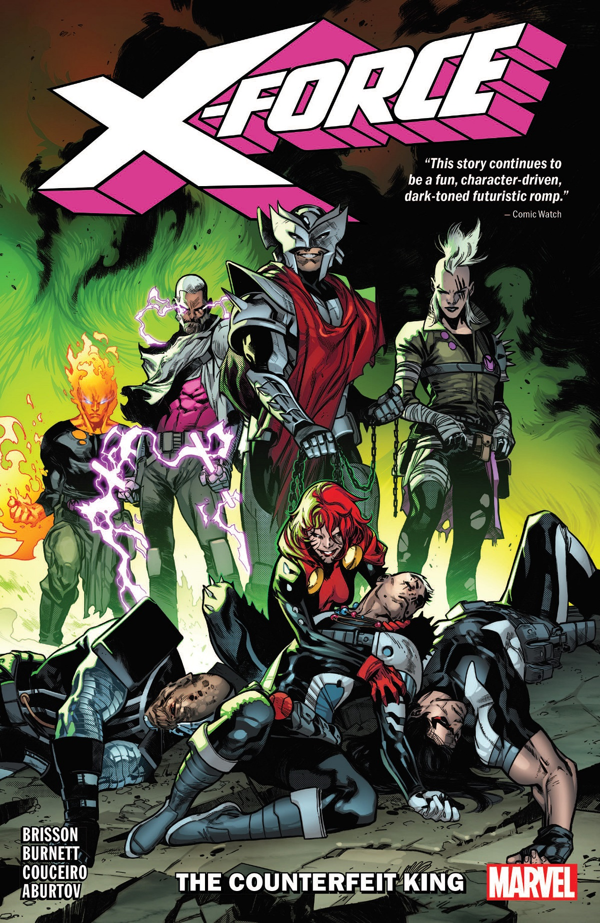 X-Force Vol. 2: The Counterfeit King (Trade Paperback)