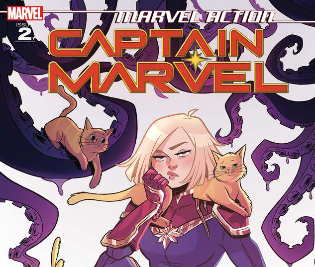 Marvel Action Captain Marvel #2