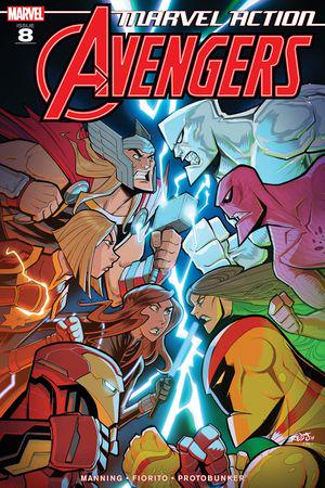 Marvel Action Avengers #8
