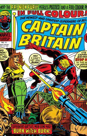 Captain Britain (1976) #11