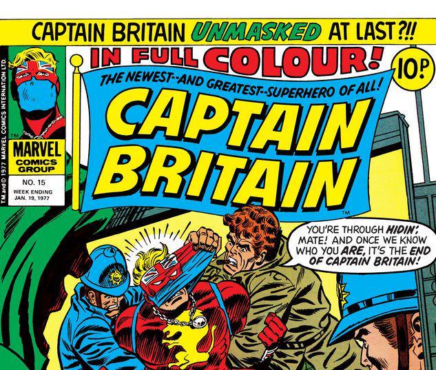 Captain Britain #15