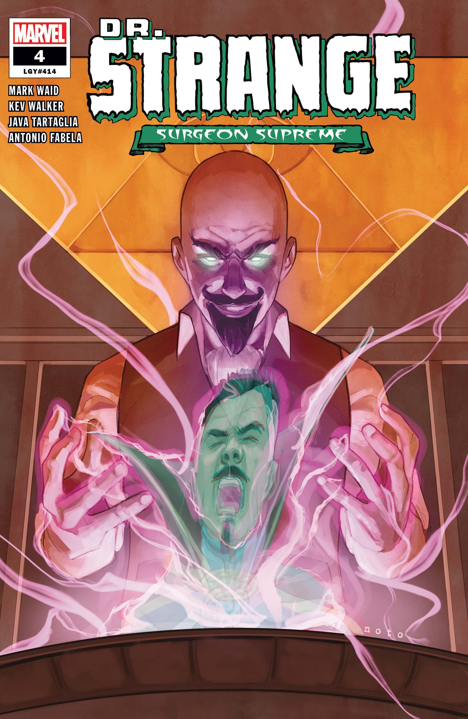 Dr. Strange (2019) #4