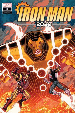 Iron Man 2020 (2020) #6 (Variant)