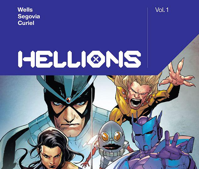 HELLIONS BY ZEB WELLS VOL. 1 TPB #1