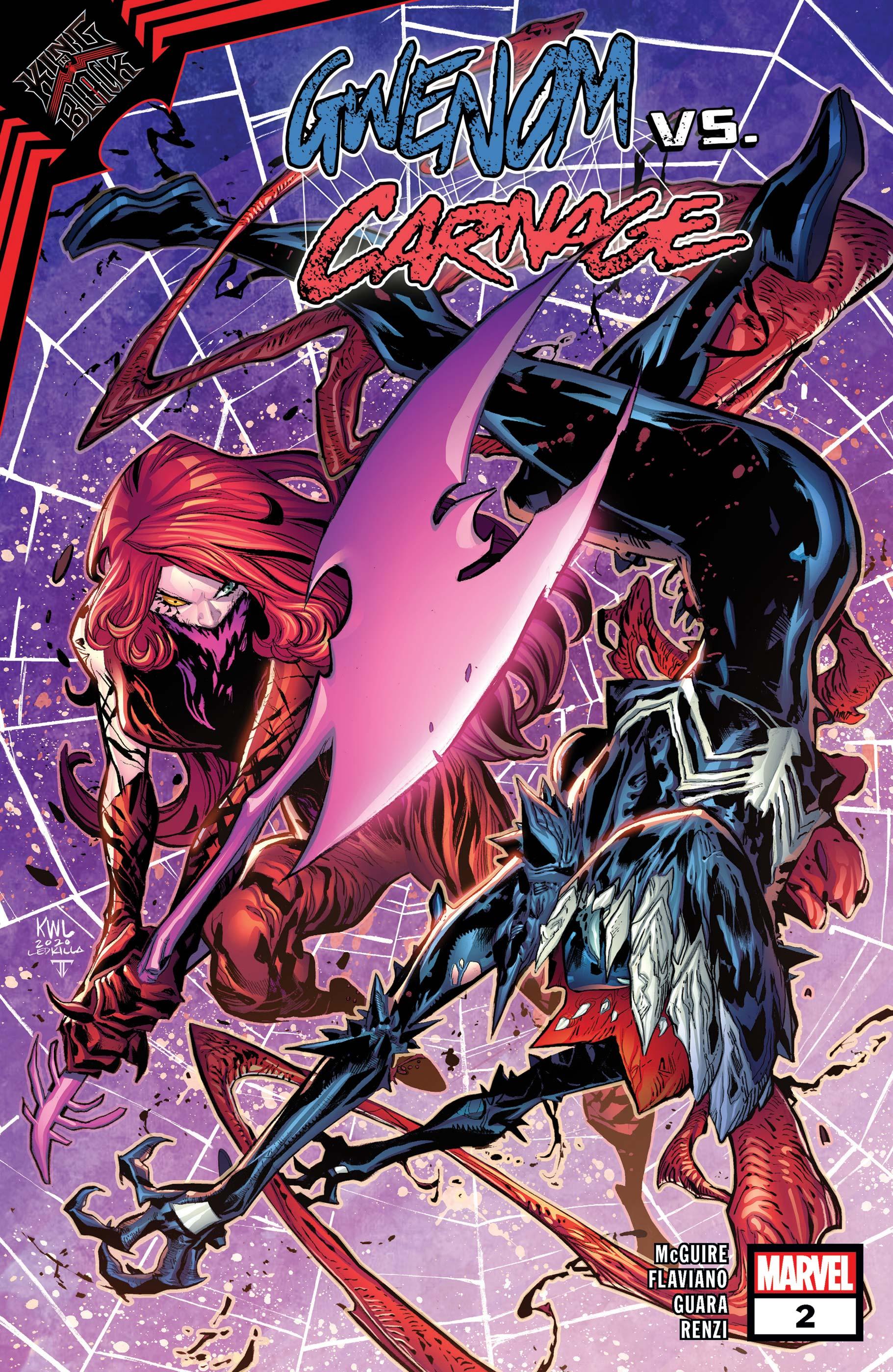 King in Black: Gwenom Vs. Carnage (2021) #2