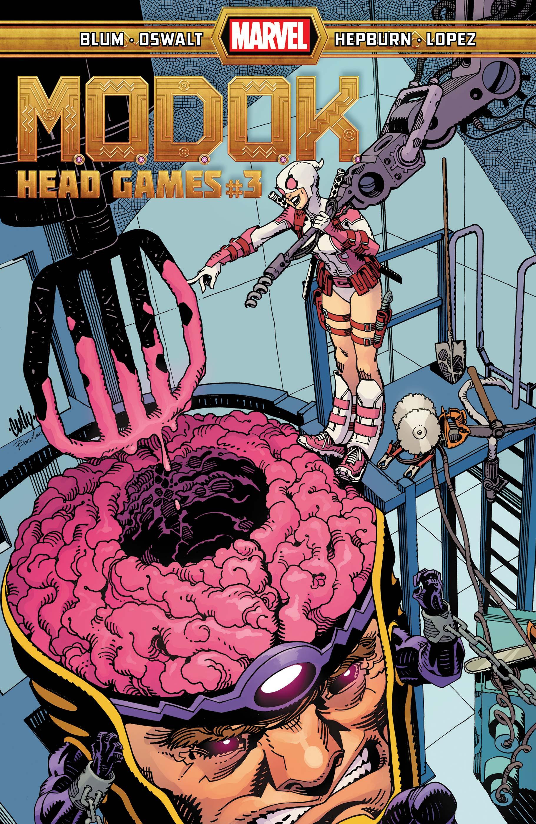 M.O.D.O.K.: Head Games (2020) #3