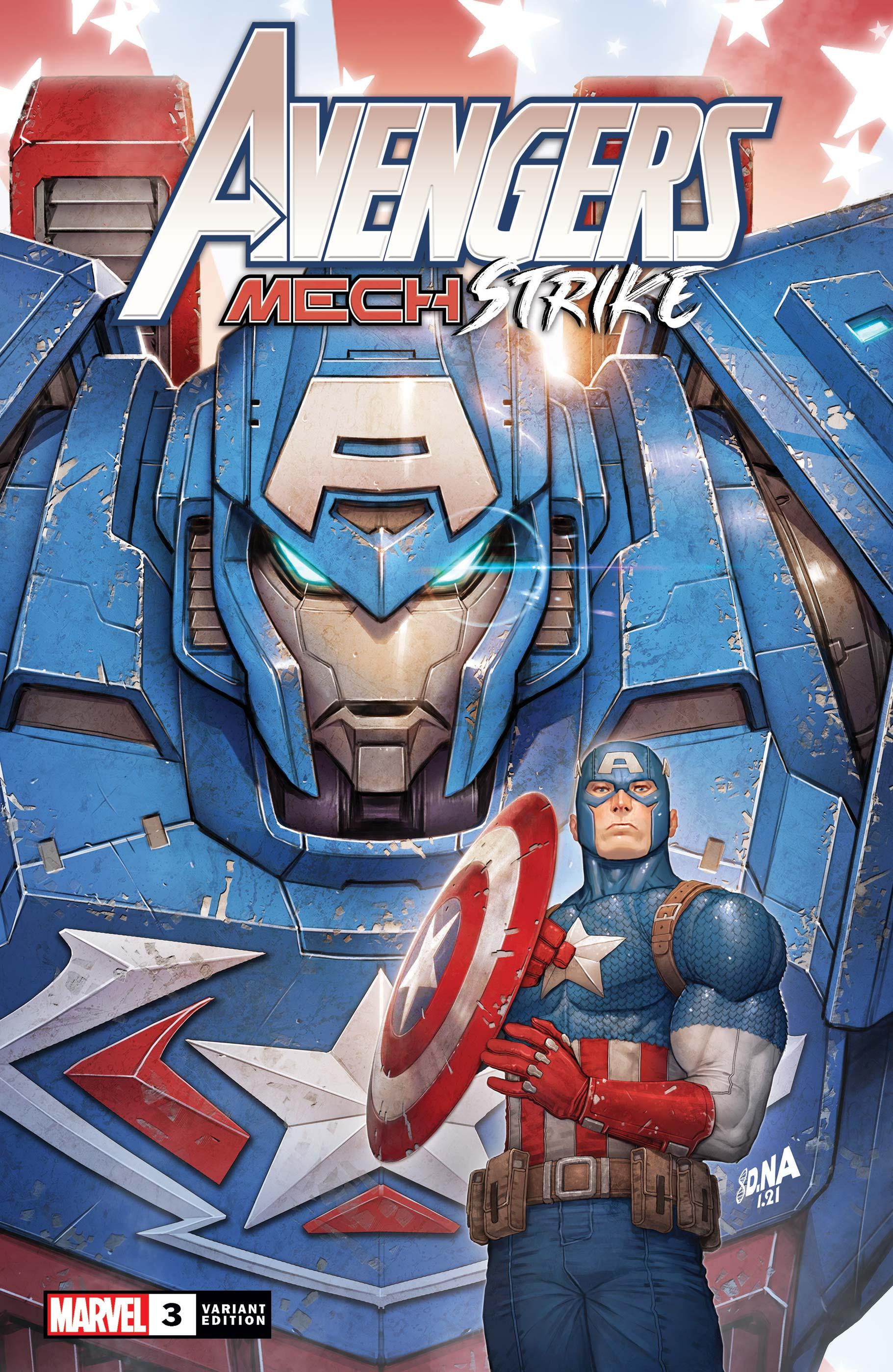Avengers Mech Strike (2021) #3 (Variant)
