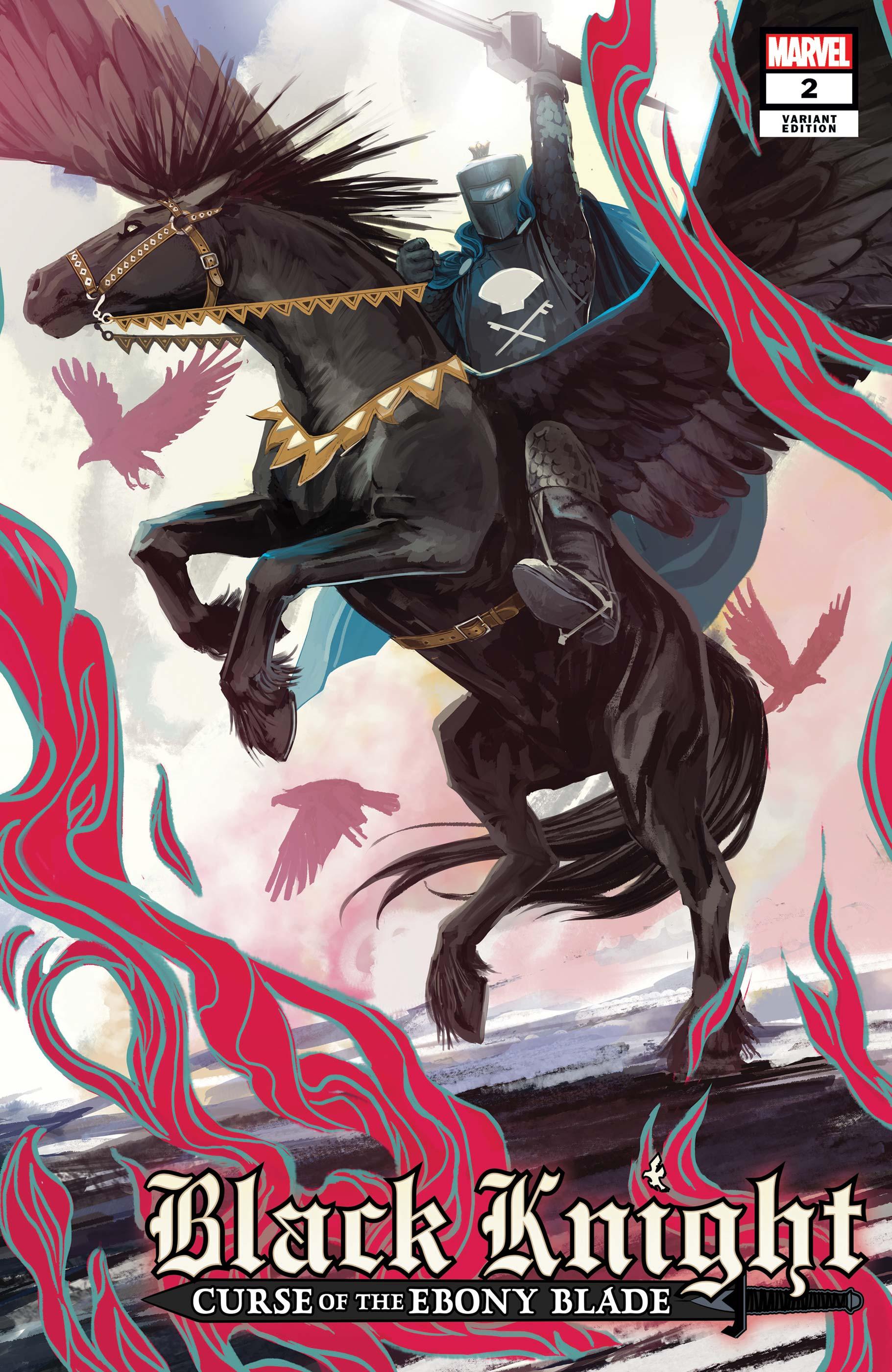Black Knight: Curse of the Ebony Blade (2021) #2 (Variant)