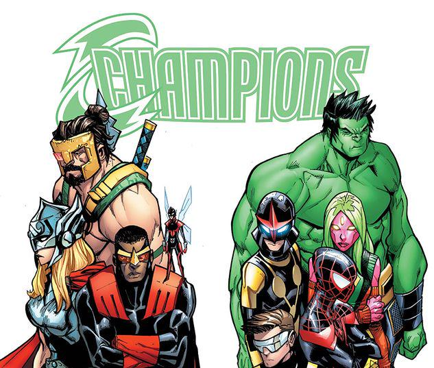 CHAMPIONS: WORLDS COLLIDE GN-TPB #1
