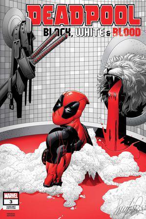 Deadpool: Black, White & Blood (2021) #3 (Variant)