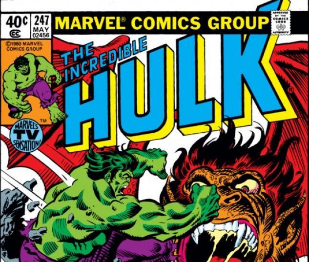 INCREDIBLE HULK (2009) #247 COVER