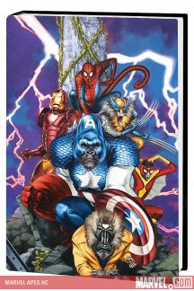 Marvel Apes (Hardcover)