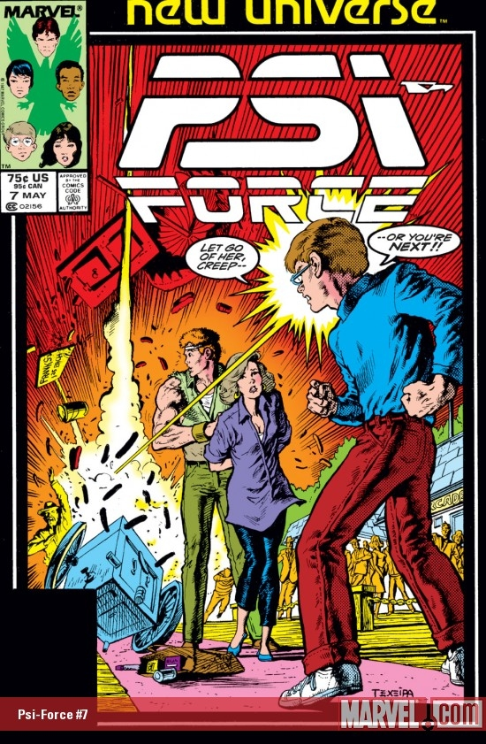 Psi-Force (1986) #7