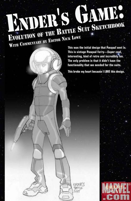 Ender's Game Sketchbook (2008) #1