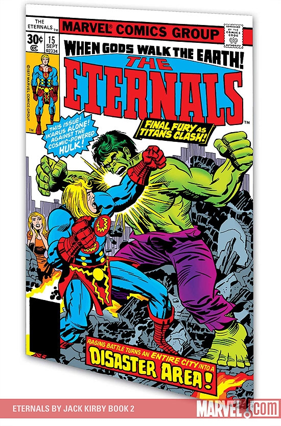 ETERNALS BY JACK KIRBY BOOK 2 TPB (Trade Paperback)